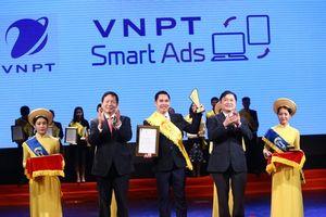 VNPT lập 'hat-trick' tại chương trình Sao Khuê 2018