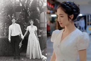 Hòa Minzy bị tố 'nhái' váy cưới của Song Hye Kyo