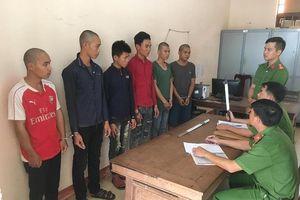 Khởi tố 6 thanh niên cướp tiền tài xế xe tải để đi nhậu