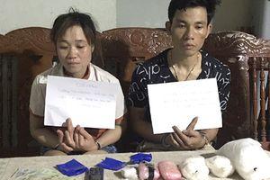 Đôi nam nữ xách 4kg ma túy từ Lào về tiêu thụ
