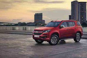 SUV 7 chỗ Chevrolet Trailblazer sẽ bán ra tại Việt Nam từ tháng 5 tới