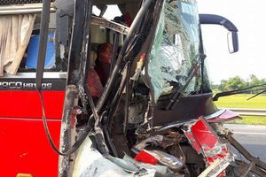 Tai nạn liên hoàn trên đường tránh, 2 người thương vong