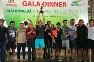 Đội Thịnh Quốc Phong vô địch giải bóng đá Cup Golden Hills