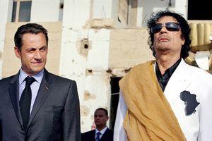 Vén màn bí mật quan hệ kim tiền Gaddafi - Sarkozy