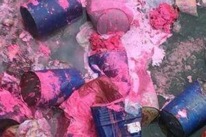 Lạng Sơn: CA truy tìm nghi phạm đổ hóa chất làm ô nhiễm nguồn nước