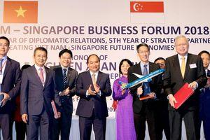 Lập liên doanh bảo dưỡng sửa chữa máy bay Việt Nam - Singapore