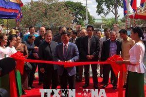 Khánh thành Đài phát thanh ở Campuchia do Việt Nam tài trợ