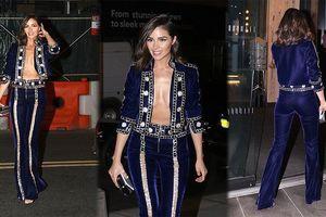Chán thời trang 'thiếu vải', Olivia Culpo lại thả rông vòng 1
