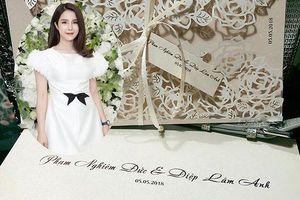 Rộ nghi án Diệp Lâm Anh cưới chạy bầu