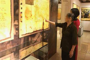 Gần 200 hiện vật, tài liệu và hình ảnh về 'Thư, Nhật ký thời chiến'
