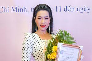 NSƯT Trịnh Kim Chi giành giải vàng tại Liên hoan Kịch nói toàn quốc 2018