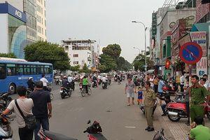 Nghi can đâm người sau quệt xe ở TP.HCM ra Hà Nội đầu thú