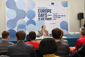 Nhiều hoạt động trong Chương trình 'Những ngày châu Âu 2018' tại Việt Nam