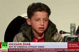 Nhân chứng lột màn kịch tấn công hóa học tại Syria