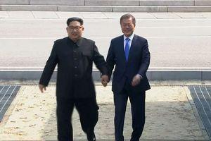 Chùm ảnh toàn cảnh bước chân lịch sử của Chủ tịch Kim Jong Un ở biên giới liên Triều