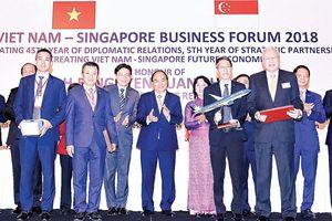 Tăng cường quan hệ song phương Việt Nam - Singapore