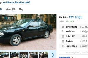 Những chiếc ô tô Nissan cũ này đang rao bán tầm giá 100 triệu đồng tại Việt Nam