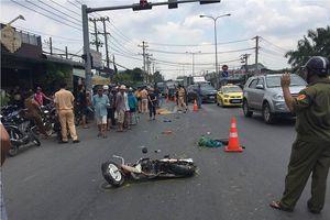 Chạy xe máy về nhà sau buổi học, nữ sinh bị xe tải cán chết