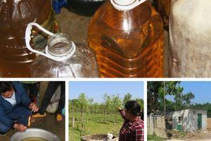 Vụ nước giếng nhiễm dầu ở Hà Tĩnh: Lộ diện doanh nghiệp làm rò rỉ dầu