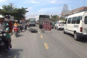 Bị xe tải kéo lê gần chục mét, người đàn ông chết thảm