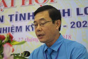 Đồng chí Huỳnh Bá Long tái đắc cử Chủ tịch LĐLĐ tỉnh Vĩnh Long