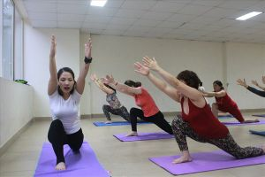 Nghị lực sống kiên cường của cô giáo dạy yoga