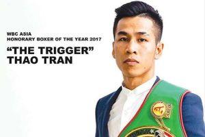 Hạ knock-out đối thủ Thái Lan, võ sĩ Trần Văn Thảo được vinh danh