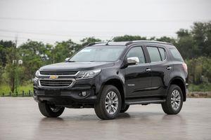 Ảnh Chevrolet Trailblazer - đối thủ mới của Toyota Fortuner
