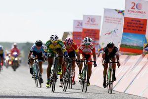Chặng 27 giải xe đạp Cúp Truyền hình TP.HCM: Nguyễn Vũ Linh cán đích đầu tiên tại Đất Mũi