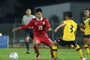 U21 Thái Lan thua sốc U21 Brunei