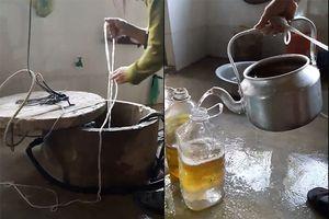Tìm ra 'thủ phạm' khiến giếng nước có dầu ở Hà Tĩnh
