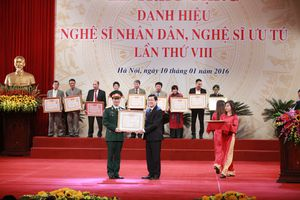 131 nghệ sĩ được đề nghị xét tặng Danh hiệu Nghệ sĩ Nhân dân, Nghệ sĩ Ưu tú