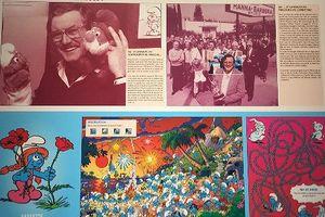 Triển lãm 60 năm tác phẩm truyện tranh 'Xì Trum'