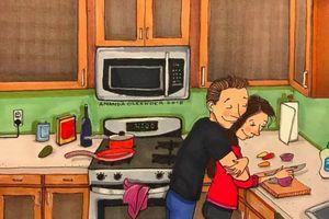 Tình yêu là sự chấp nhận mọi khuyết điểm của nhau dù lớn hay nhỏ