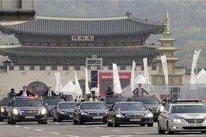 Đoàn xe hộ tống Tổng thống Hàn Quốc Moon Jae-in có gì đặc biệt?
