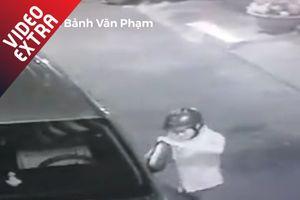 Thanh niên trộm kính ôtô chỉ trong 'một nốt nhạc'