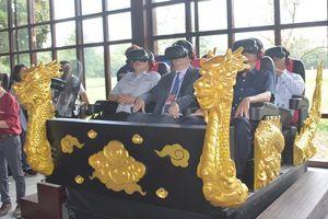 Ứng dụng công nghệ thực tế ảo đi tìm hoàng cung đã mất