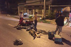 Tài xế xe tải tông chết 2 vợ chồng đi xe máy ra đầu thú