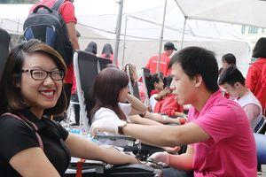 Nhiều hoạt động ý nghĩa tại Chương trình 'Chung sức vì nhân đạo'