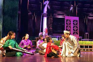 Công diễn vở cải lương 'Thầy Ba Đợi' tại Long An