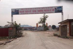 Bắc Giang: Vi phạm pháp luật môi trường, Công ty HT 86 Việt Nam bị phạt 300 triệu đồng