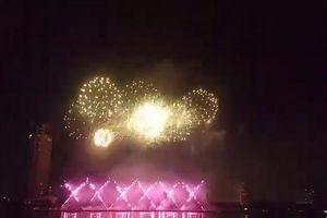 Mãn nhãn đại tiệc pháo hoa lung linh trên bầu trời Đà Nẵng
