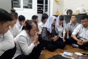 Phát hiện nhiều người tụ tập sinh hoạt 'Hội Thánh Đức Chúa Trời' tại căn hộ chung cư