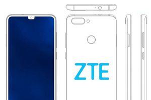 ZTE đăng ký bản quyền thiết kế smartphone đặt phím Home trong tai thỏ khá 'dị'
