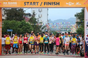 Hà Giang: Giải Marathon quốc tế chạy trên cung đường Hạnh Phúc