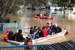 'Đại hồng thủy' đe dọa California