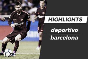 Highlights Messi rực sáng giúp Barca vô địch La Liga