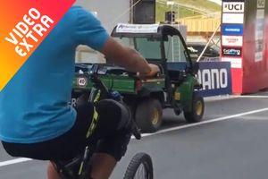 Những tình huống đạp xe một bánh
