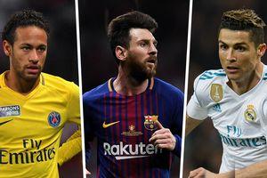 Choáng với hai ông vua 'cày tiền' Ronaldo và Messi