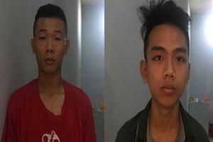 Bắt 2 tên cướp 'nhí' gây ra hàng loạt vụ cướp tài sản của phụ nữ